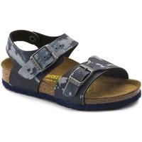 Chaussures Garçon Sandales et Nu-pieds Birkenstock 1004917 Bleu