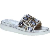 Chaussures Femme Claquettes Byblos Blu 672101 Gris