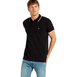 Vêtements Homme Polos manches courtes Wrangler W7C10K Noir