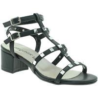 Chaussures Femme Sandales et Nu-pieds Pregunta IL68085-BB Noir