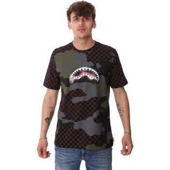 Vêtements Homme T-shirts manches courtes Sprayground SP01820BRO Marron