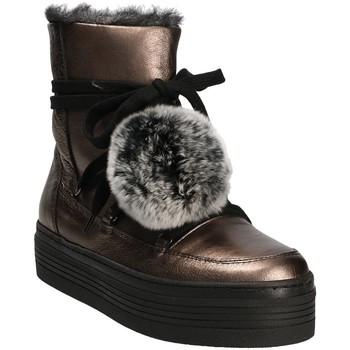 Chaussures Femme Bottes de neige Mally 5991 Gris