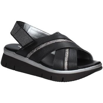 Chaussures Femme A213_68-nvy-4 Run Perfed The Flexx D2016_22 Noir