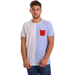 Vêtements Homme T-shirts manches courtes Gaudi 811FU64046 Blanc