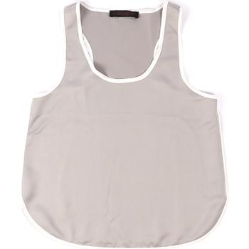 Vêtements Femme Débardeurs / T-shirts sans manche Café Noir JT002 Gris