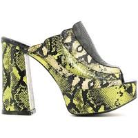 Chaussures Femme Sandales et Nu-pieds Police 883 JF1216 Vert