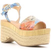 Chaussures Femme Sandales et Nu-pieds Police 883 V60 Bleu