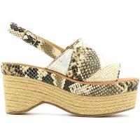 Chaussures Femme Sandales et Nu-pieds Police 883 V90 Vert