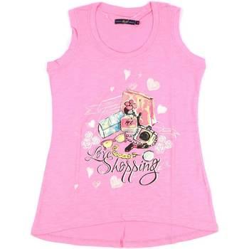 Vêtements Femme Débardeurs / T-shirts sans manche Key Up S88Z 0001 Rose