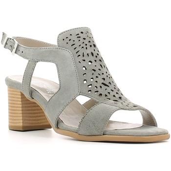 Chaussures Femme Sandales et Nu-pieds Keys 5414 Gris