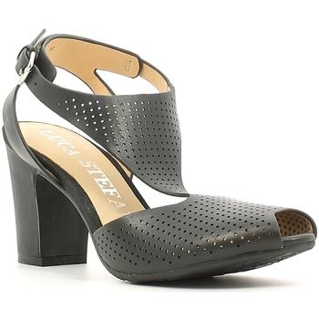 Chaussures Femme Sandales et Nu-pieds Luca Stefani 230104 Noir