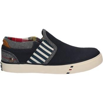Chaussures Enfant Slip ons Wrangler WJ17103 Bleu