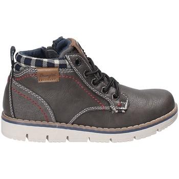 Chaussures Enfant Baskets montantes Wrangler WJ17215 Gris