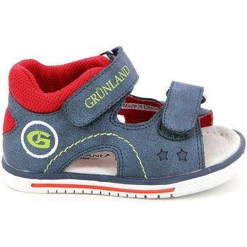 Chaussures Enfant Sandales et Nu-pieds Grunland PS0017 Bleu