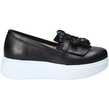 Chaussures Femme Slip ons Exton E01 Noir