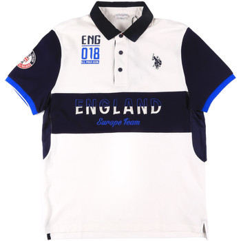 Vêtements Homme Polos manches courtes U.S Polo Assn. 43773 41029 Blanc