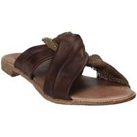Chaussures Femme Mules 18+ 6113 Marron