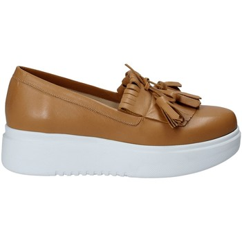 Chaussures Femme Slip ons Exton E01 Marron