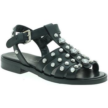 Chaussures Femme Sandales et Nu-pieds Mally 6134 Noir