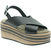 Chaussures Femme Sandales et Nu-pieds Pregunta IBH5803 Noir