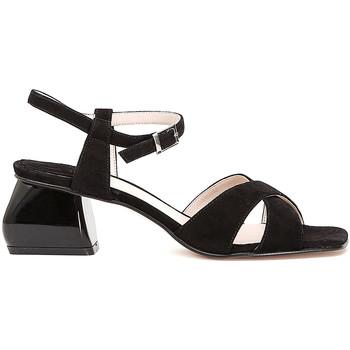 Chaussures Femme Sandales et Nu-pieds Café Noir ME571 Noir