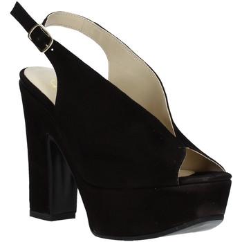 Chaussures Femme Sandales et Nu-pieds Grace Shoes TQ 107 Noir