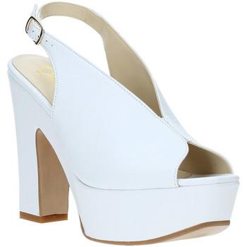 Chaussures Femme Sandales et Nu-pieds Grace Shoes TQ 107 Blanc