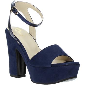 Chaussures Femme Sandales et Nu-pieds Grace Shoes TQ 106 Bleu