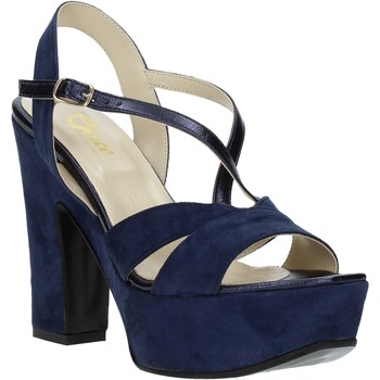 Chaussures Femme Sandales et Nu-pieds Grace Shoes TQ 126 Bleu