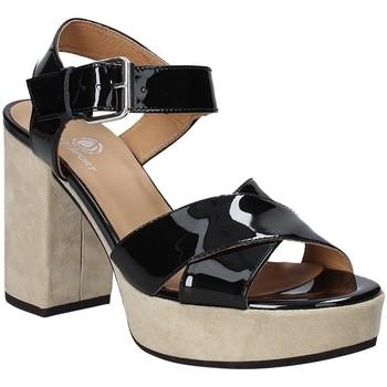 Chaussures Femme Sandales et Nu-pieds Janet Sport 43883 Noir