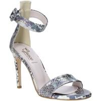 Chaussures Femme Sandales et Nu-pieds Grace Shoes 018SP022 Argent
