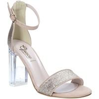 Chaussures Femme Sandales et Nu-pieds Grace Shoes 018TR003 Beige