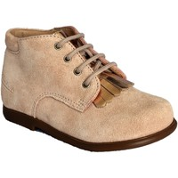 Chaussures Fille Boots Pom d'Api Nioupi Mex rose