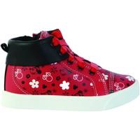 Chaussures Fille Baskets montantes Clarks Basket Montante Cuir  City Mouse T Rouge