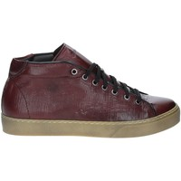 Chaussures Homme Baskets montantes Exton 481 Rouge