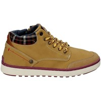 Chaussures Enfant Baskets montantes Wrangler WJ17219 Jaune