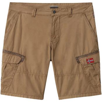 Vêtements Homme Shorts / Bermudas Napapijri NP0A4E1O Marron