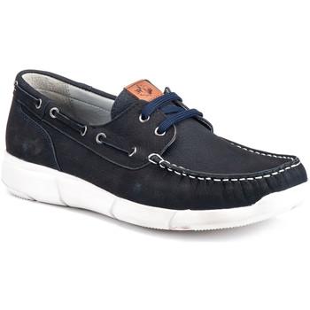 Chaussures Homme Chaussures bateau Lumberjack SM59914 001 D01 Bleu