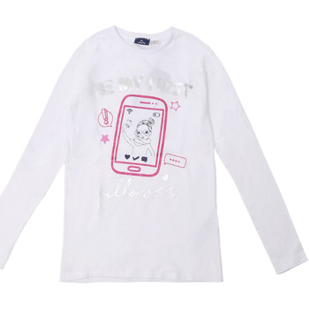 Vêtements Enfant T-shirts manches longues Chicco 09006871000000 Blanc