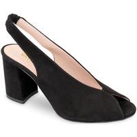 Chaussures Femme Sandales et Nu-pieds Valleverde 29201 Noir