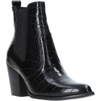 Chaussures Femme Bottines Steve Madden SMSPATRICIA-BLKCRO Noir
