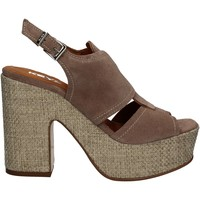 Chaussures Femme Sandales et Nu-pieds Keys 5263 Beige