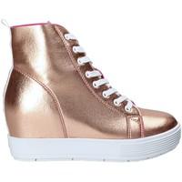Chaussures Femme Baskets montantes Fornarina PE17MJ9543I091 Rose