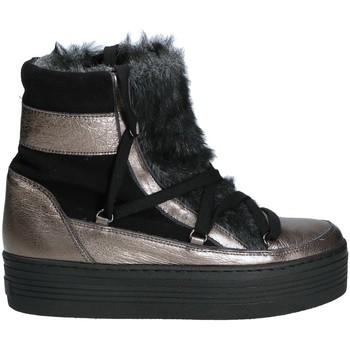 Chaussures Femme Bottes de neige Mally 5990 Gris