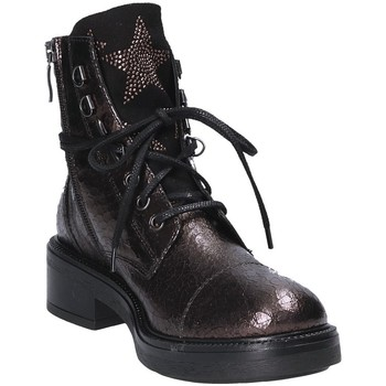Chaussures Femme Boots Mally 6019 Rouge