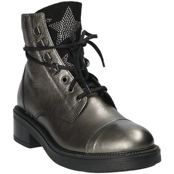 Chaussures Femme Bottines Mally 6019 Argent