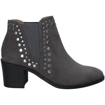 Chaussures Femme Boots Fornarina PI18KS1124S009 Gris