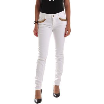 Vêtements Femme Chinos / Carrots Gaudi 911BD26030 Blanc