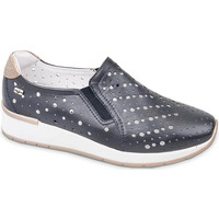 Chaussures Femme Slip ons Valleverde V66384 Bleu