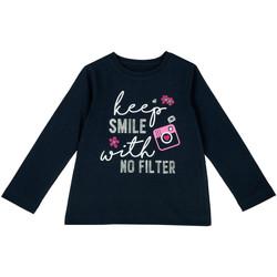 Vêtements Enfant T-shirts manches longues Chicco 09006871000000 Bleu